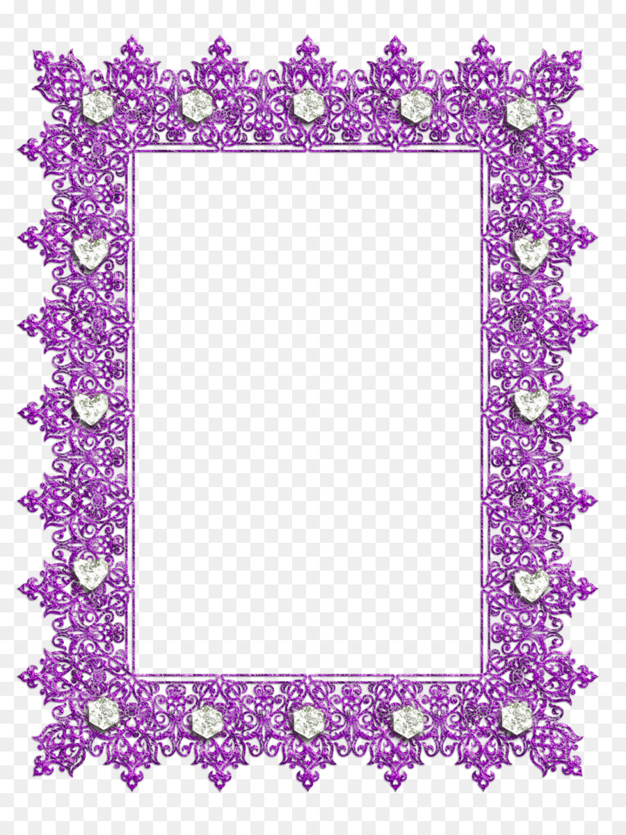 Picture Frames Purple Decorative arts Clip art - purple frame png ...