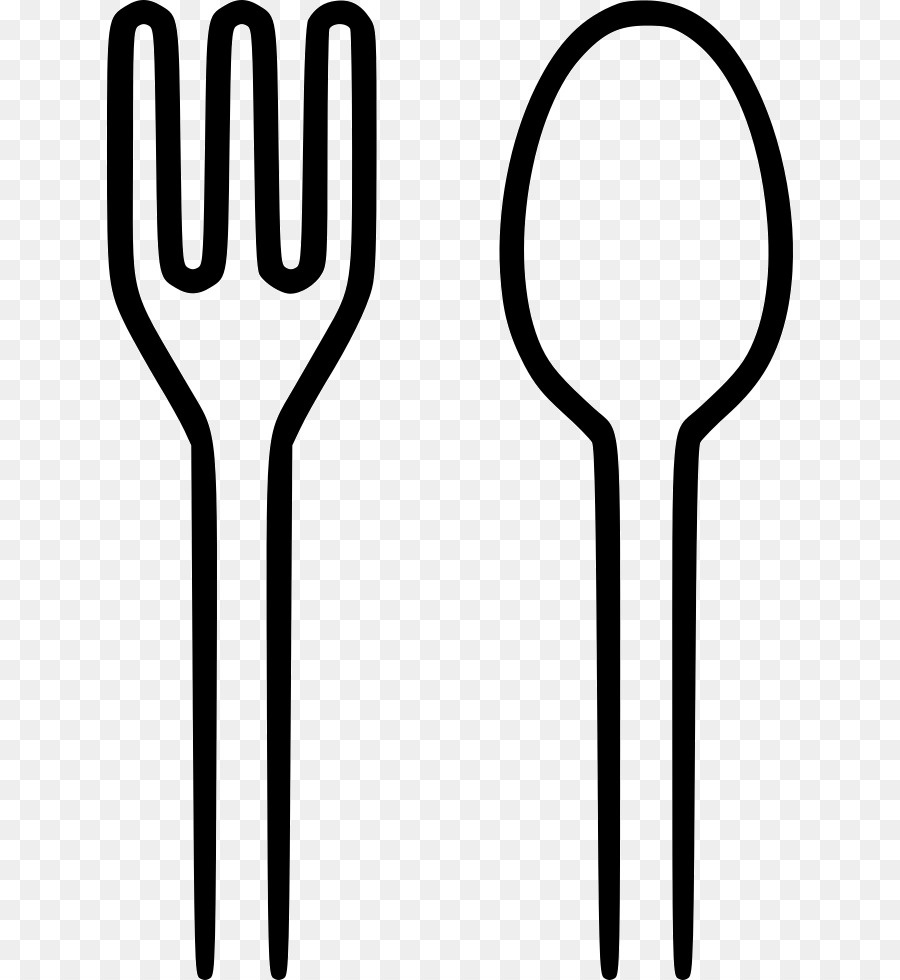 Knife Fork Spoon Clip Art Spoon And Fork Png Download 687980