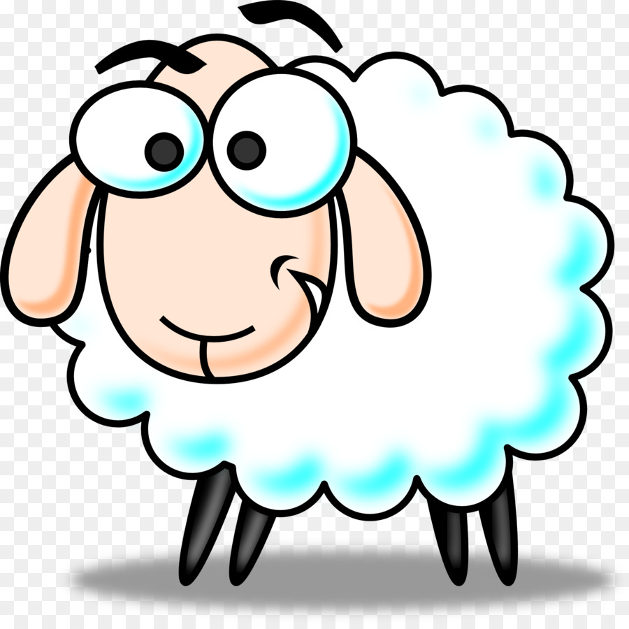 sheep cartoon clip art lamb png download 1920 1905 free rh kisspng com black sheep clipart graphics baba black sheep clipart
