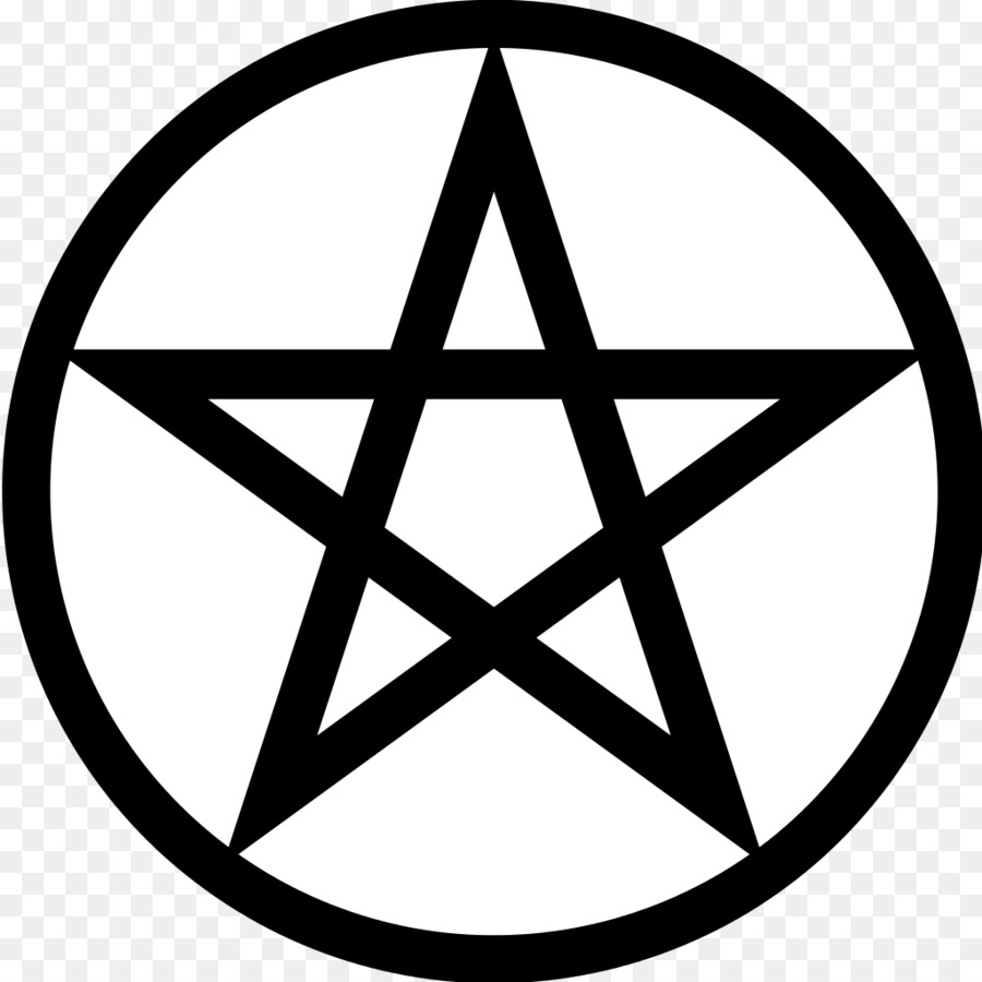 Pentagram Pentacle Wicca Symbol Satanism Satan Png Download 1024