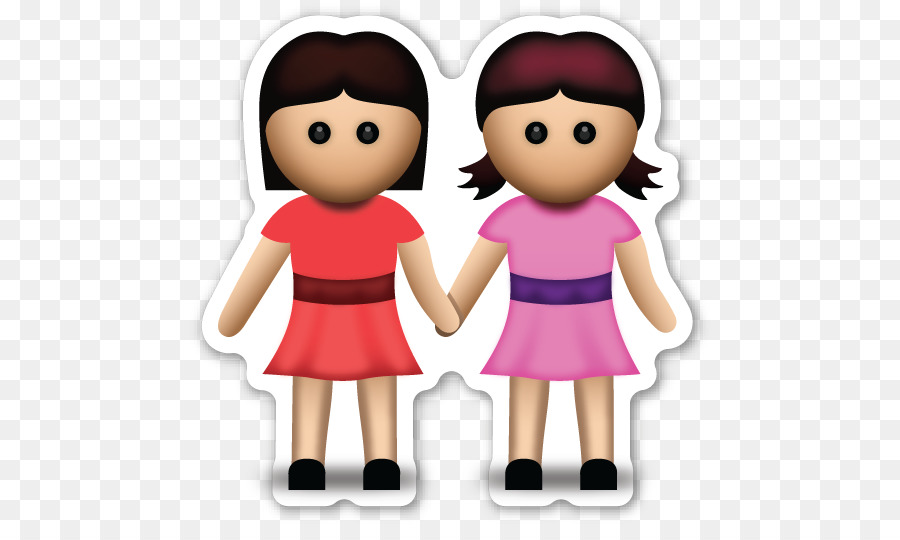 emoji holding hands sticker woman zazzle sister png download 528 rh kisspng com