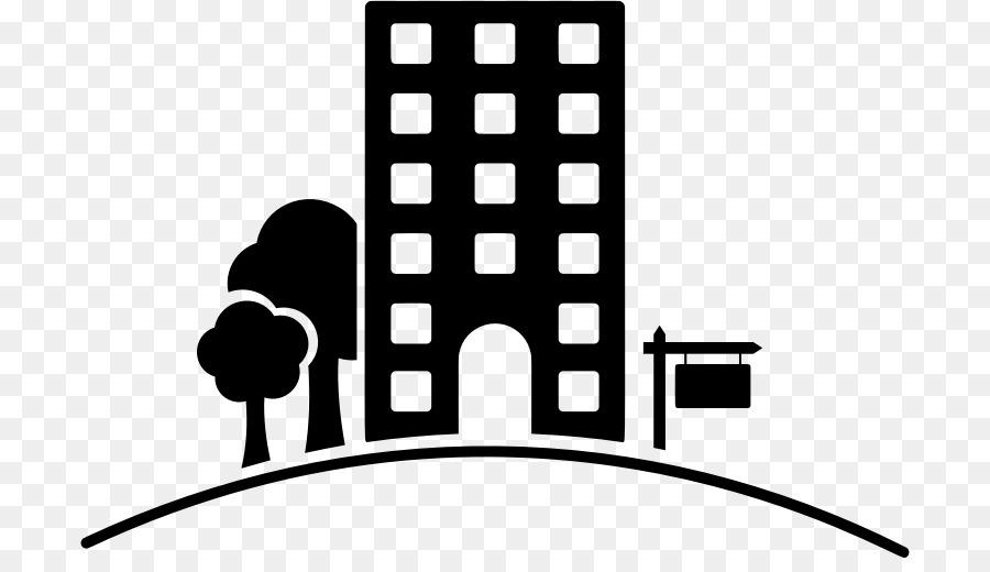 Apartment Building House Clip art - building silhouette ...