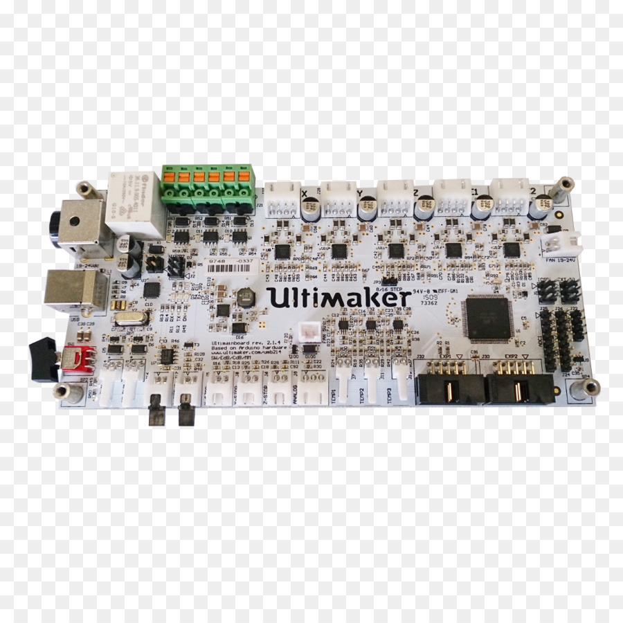 Ultimaker Electronics 3d Printing Motherboard Printed Circuit Board Wiring