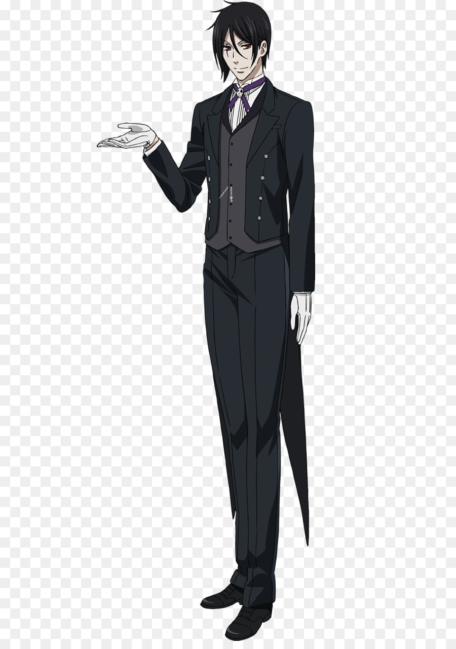 Sebastian Michaelis Ciel Phantomhive Black Butler Cosplay Kostüm