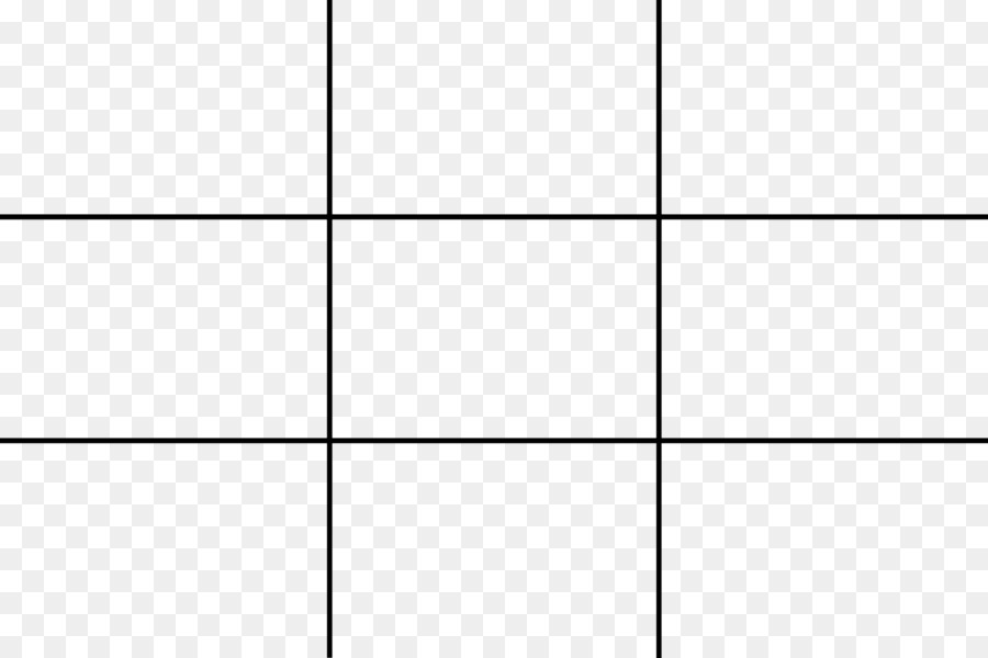 Rule Of Thirds Photography Composition Line Grid Png