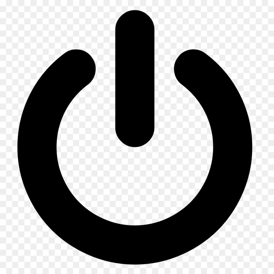 Computer Icons Power Symbol Button Off Png Download 10241024