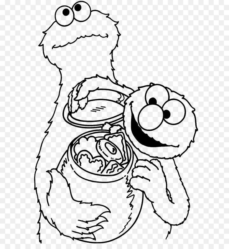 Cookie Rakasa Elmo Coloring book Biskuit - rakasa - Unduh Emosi ...