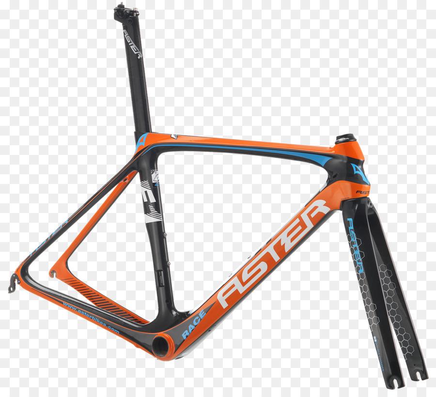 Bicycle Frames Bianchi Racing bicycle Mountain bike - orange frame ...