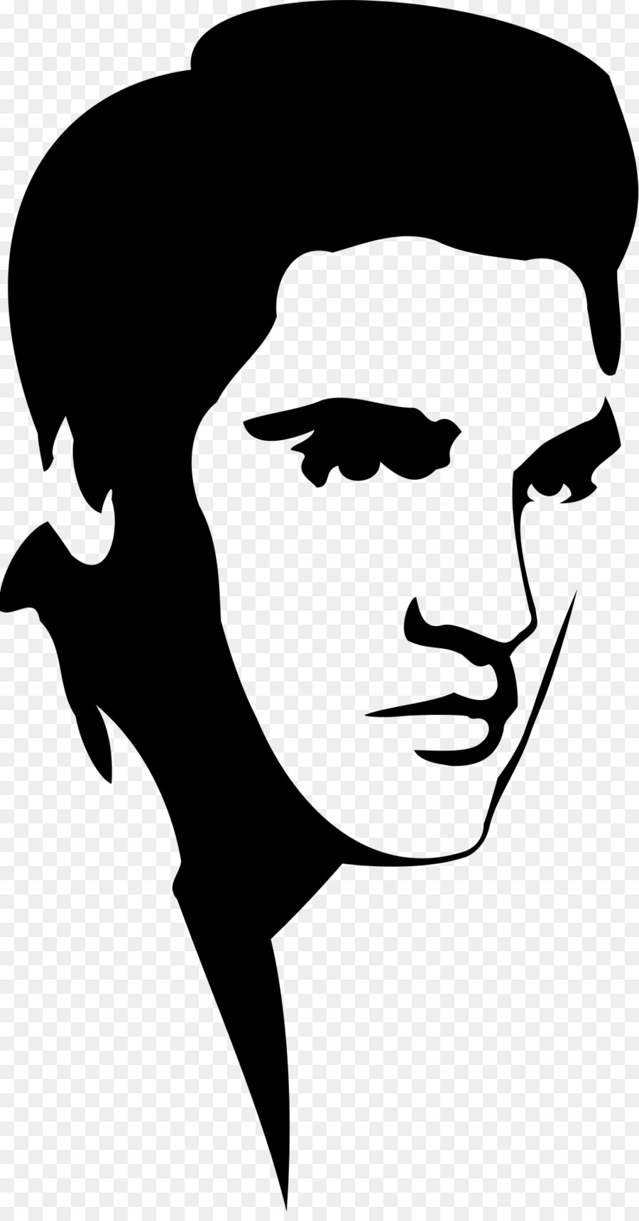 elvis presley stencil silhouette clip art elvis png download rh kisspng com elvis clip art black and white elvis clip art black and white