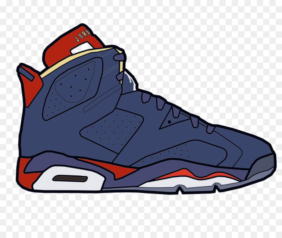Jumpman Air Jordan Shoe Drawing Sneakers   Cartoon Shoes