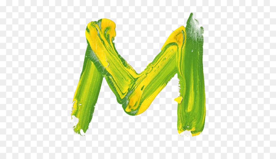 Letter Logo Paint Font