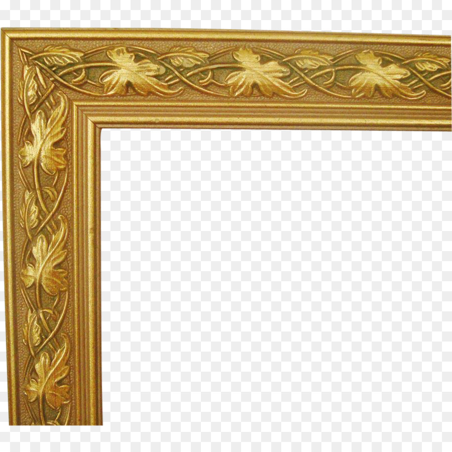Picture Frames Wood Framing Paint Decorative arts - gold paint png ...