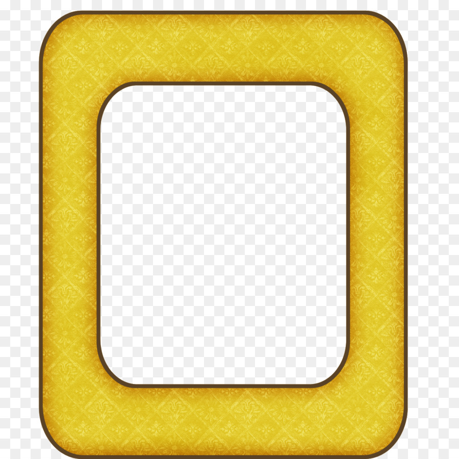 Yellow Frame Road Picture Frames Digital scrapbooking Paper - yellow ...