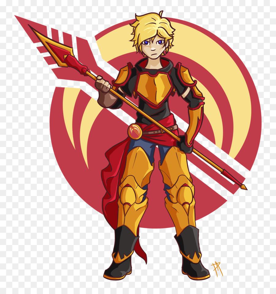 Yang Xiao Long Jaune Arc Pyrrha Nikos Rooster Teeth Deviantart Arc