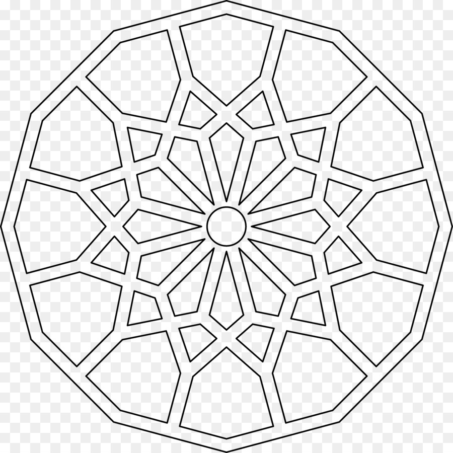 coloring pages islamic patterns drawing - photo#33