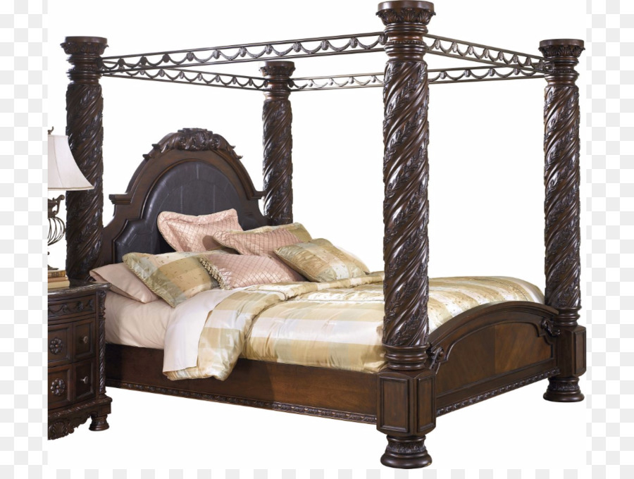Bedside Tables North Shore Canopy Bed Ashley Homestore Bedroom Png
