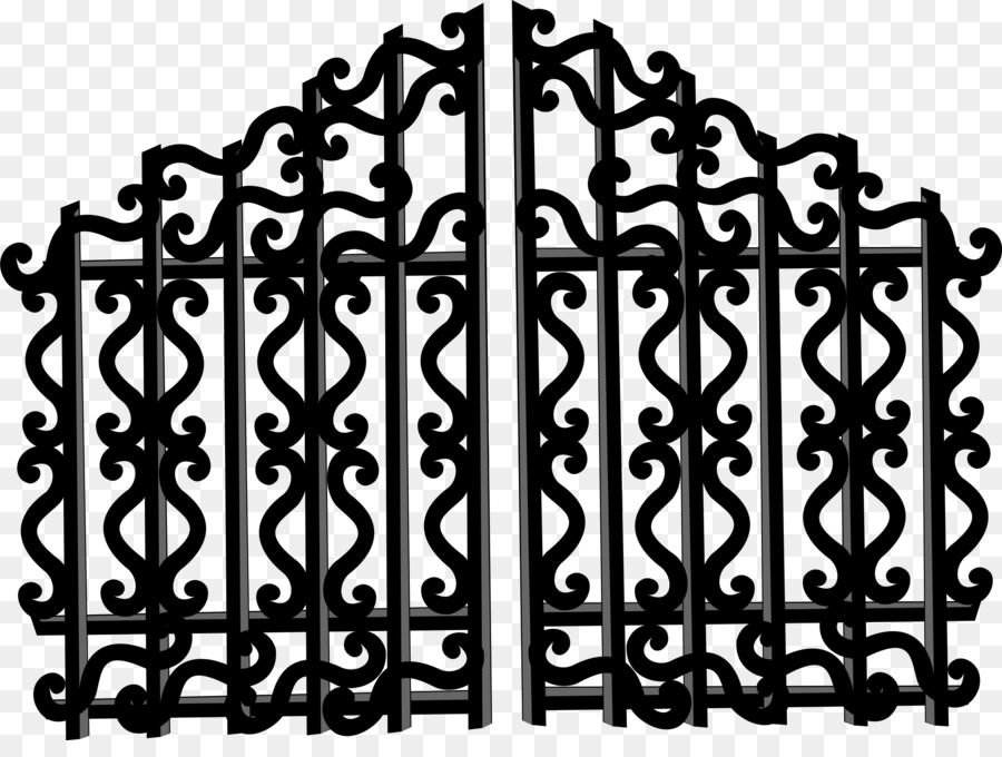 Gate Drawing Clip Art