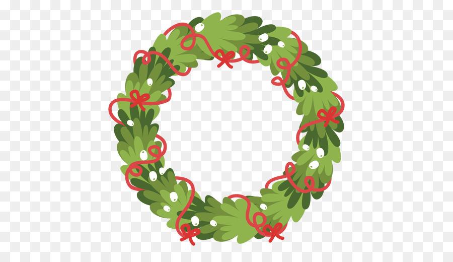 Christmas Wreath Garland Clip Art