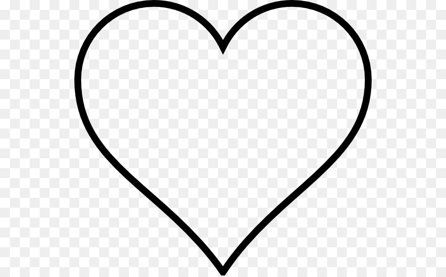 heart outline drawing valentine s day clip art heart line png