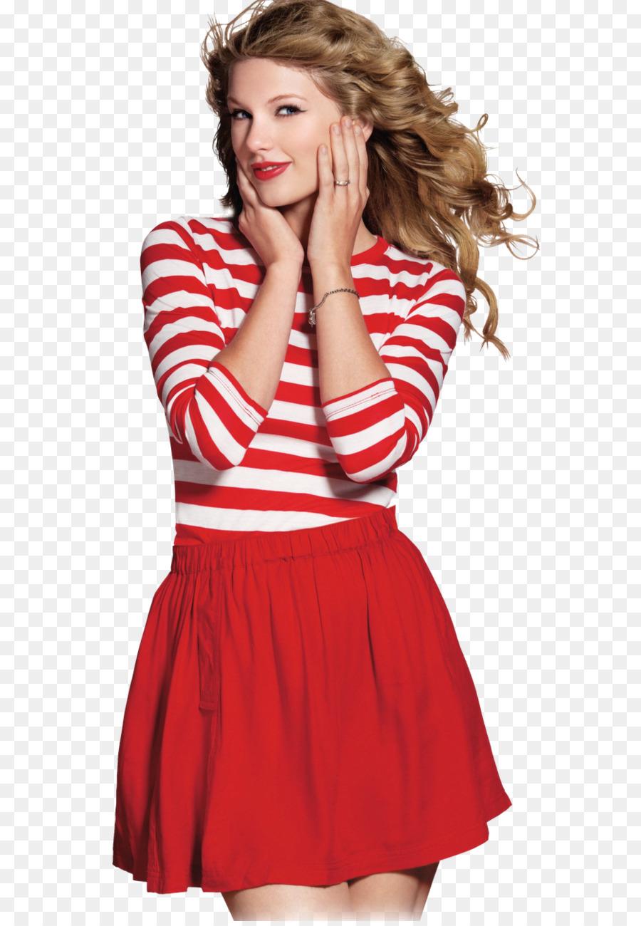 Taylor Swift Con Un Vestido Rojo De La Canción De Fondo De ...