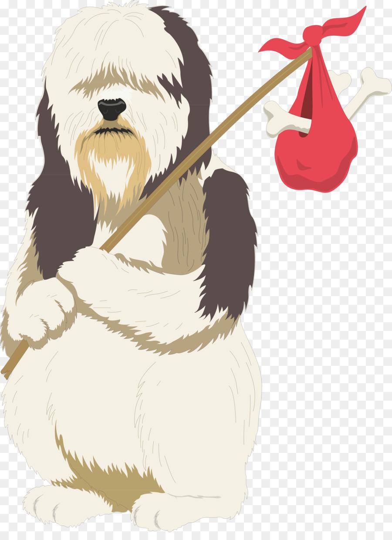 old english sheepdog puppy cartoon pet clip art poodle png