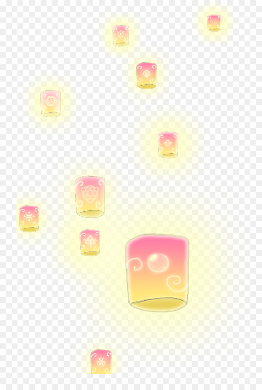 Rapunzel, Light, Lantern, Pink, Computer Wallpaper PNG