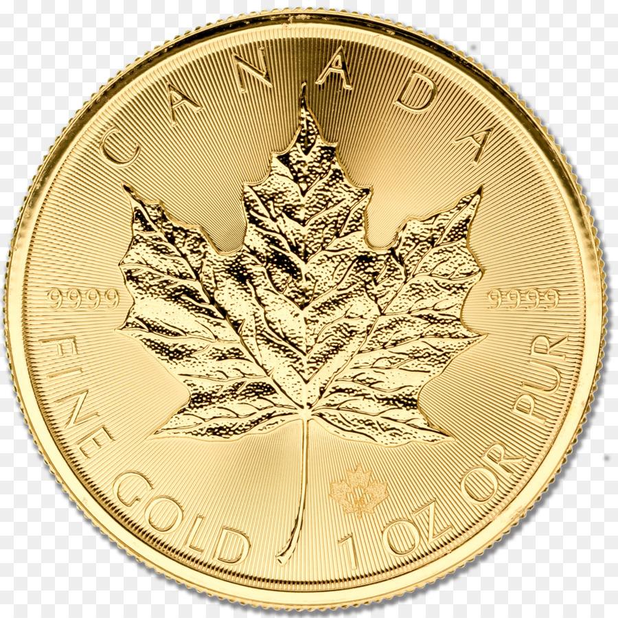 Coin Canadian Gold Maple Leaf Money Dollar Lakshmi