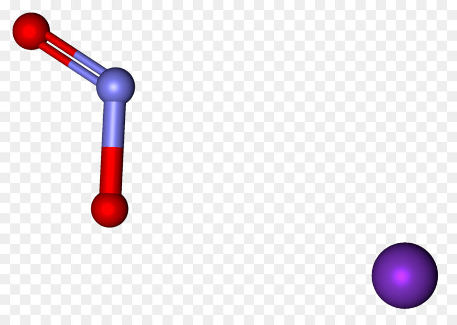 Potassium Nitrite Nitrogen Dioxide Ball And Stick Model Stick Png