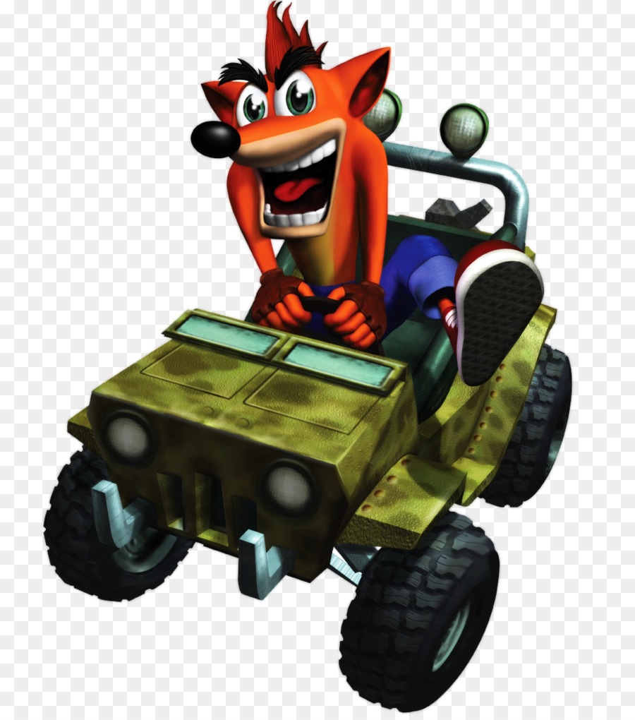 Crash Bandicoot The Wrath Of Cortex Toy png download - 790*1012