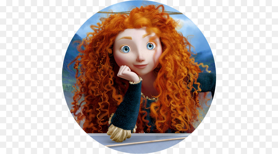 M 233 Rida De Brave Rojo Cabello De La Princesa De Disney