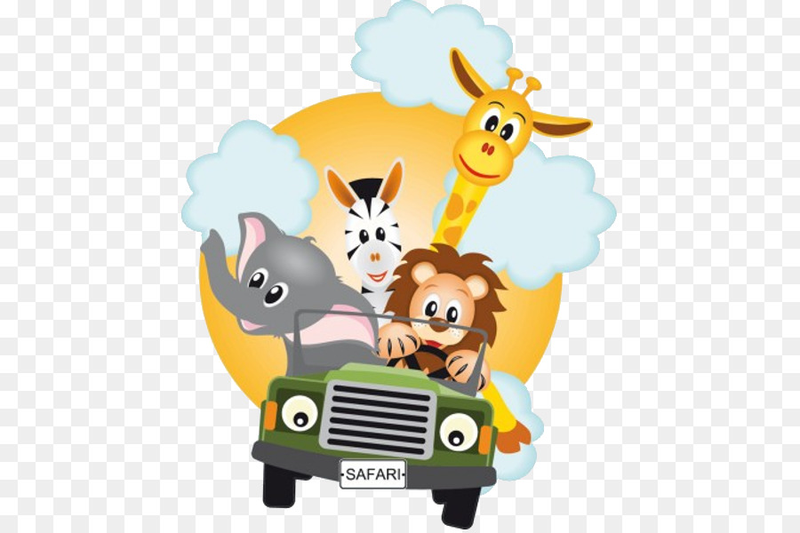 safari sticker party baby animals png download 600 600 free car clip art images free car clip art black and white