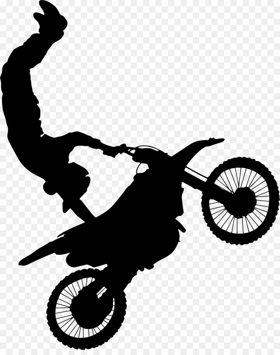 Motorcycle stunt ridin...