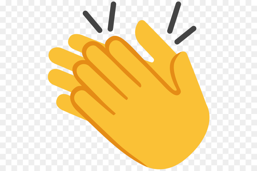 clapping hand emoji noto fonts applause hand emoji png download
