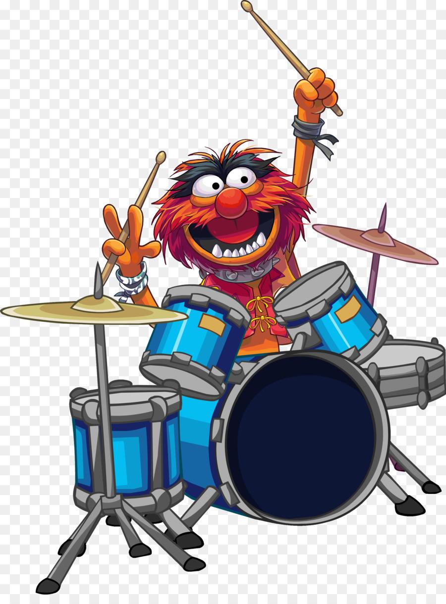 Tier Schlagzeuger Der Muppets Percussion Schlagzeuger Png