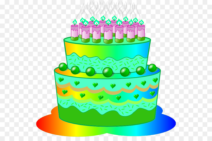Birthday Cake Frosting Icing Cupcake Layer Cake Clip Art