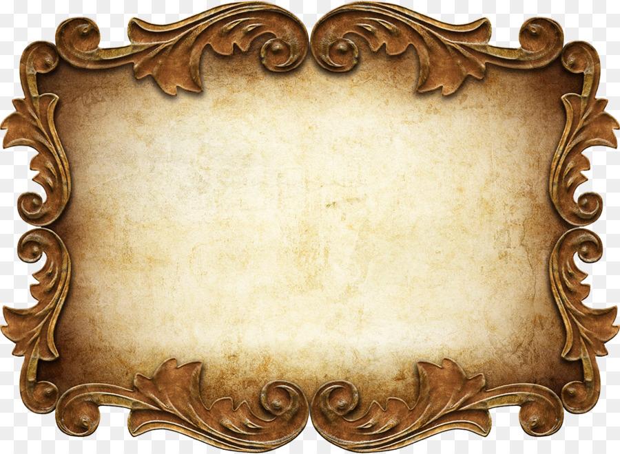 f92dda1ea6f0 Picture Frames Ornament - vintage frame png download - 1200*878 ...