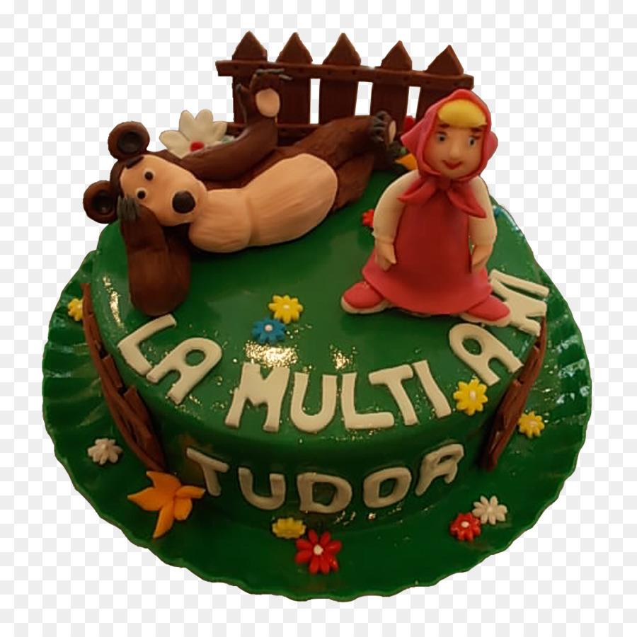 Torte Birthday Cake Sugar Paste Cake Decorating Masha And The Bear