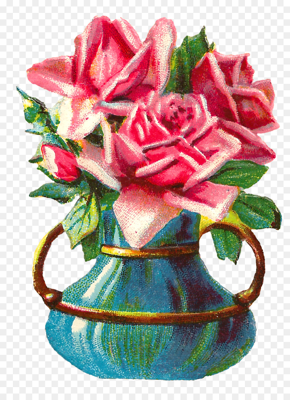Vase rose flower floral design shabby chic shabby png download vase rose flower floral design shabby chic shabby izmirmasajfo