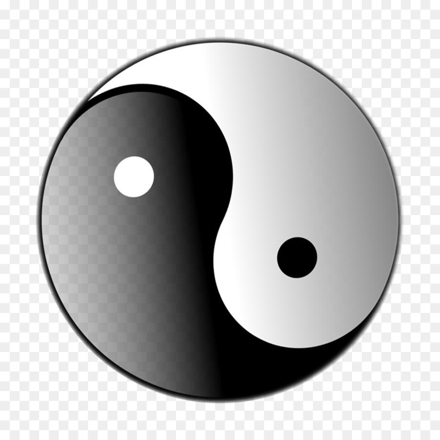 Yin And Yang Symbol Clip Art Yin Yang Png Download 3166 3166