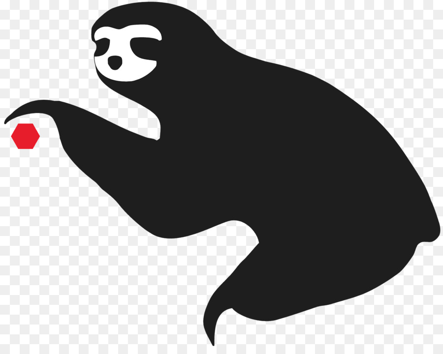 sloth silhouette anteater clip art sloth png download 1566 1230 rh kisspng com