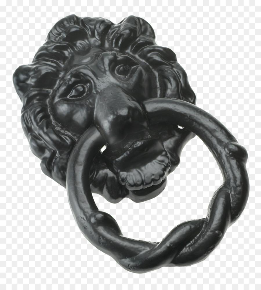 Door Knockers Latch Antique Door furniture - lion head - Door Knockers Latch Antique Door Furniture - Lion Head Png Download