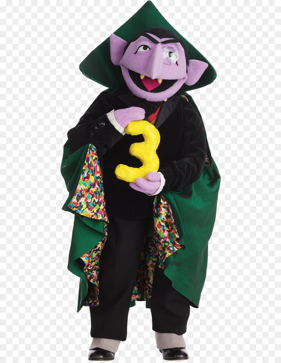count von count count dracula big bird grover oscar the grouch