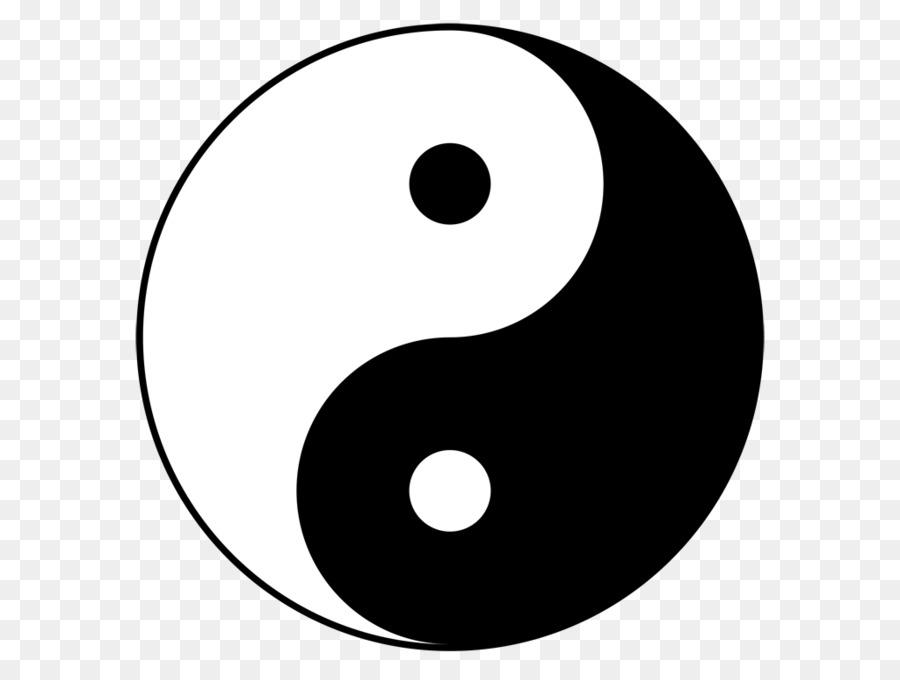 Yin And Yang Symbol Clip Art Yin Yang Png Download 1024768