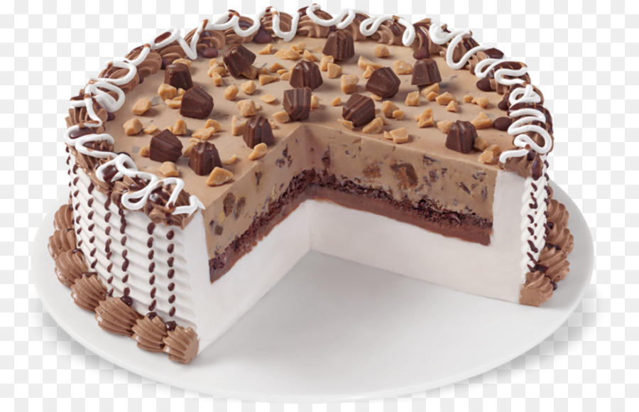 Chocolate Truffle Ice Cream Cake Birthday Cake Reeses Peanut Butter
