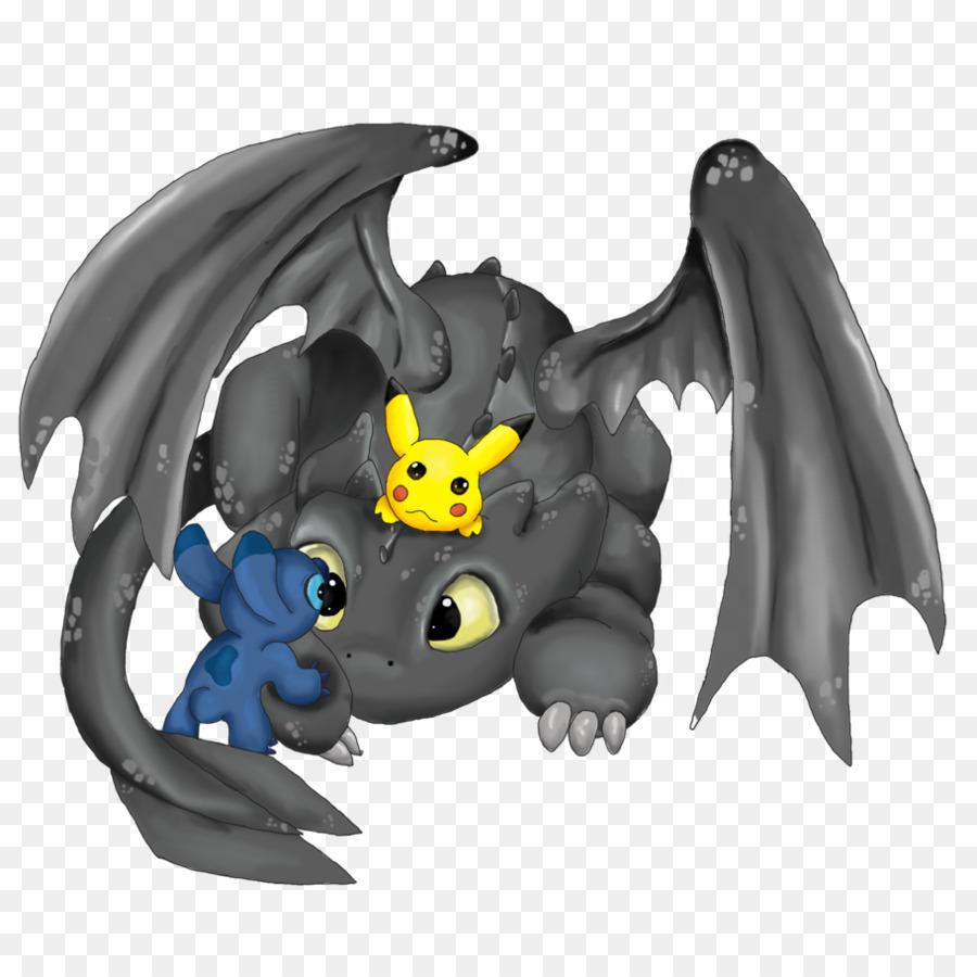 Puntada de Pikachu Desdentado de Cómo Entrenar a Tu Dragón Dibujo ...