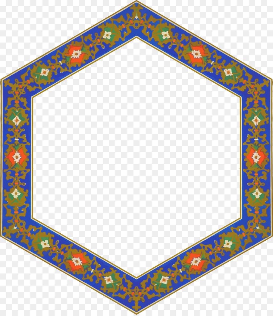 Marcos Hexagonal mosaico de imágenes prediseñadas - marco de la ...