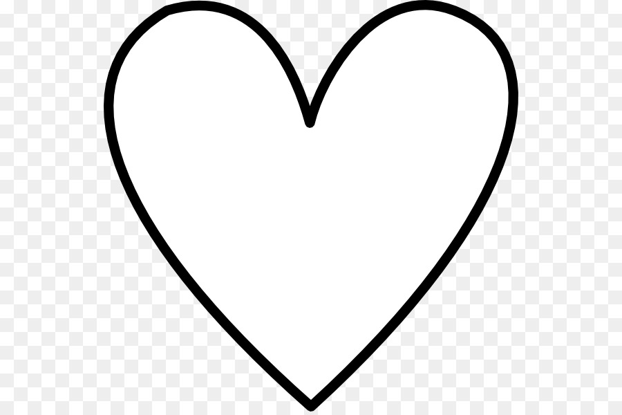 heart drawing clip art white heart png download 600 595 free rh kisspng com human heart black and white clipart human heart black and white clipart