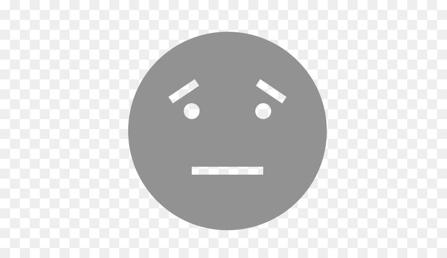 Emoticon Smiley Sadness Emoji Face Eyebrow Png Download 512512