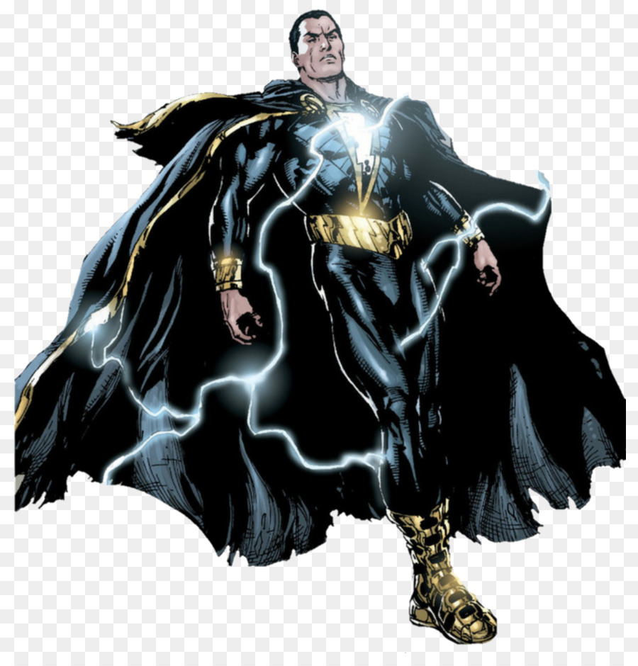Captain Marvel Thor Black Adam Panther Shazam