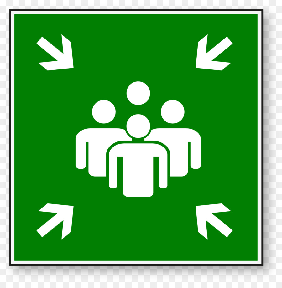 Meeting Point Signage Safety Symbol Clip Art Reunion Png Download